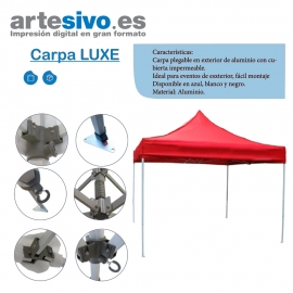CARPAS DE LUXE ALUMINIO. VARIAS MEDIDAS E INCLUYE MEDIDAS EXTRA GRANDES
