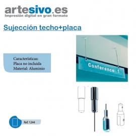 SUJECCIÓN TECHO + PLACA