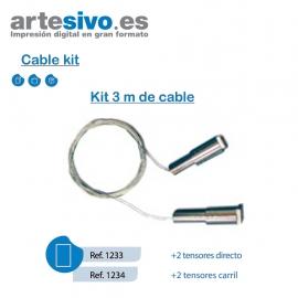 KIT 3M DE CABLE