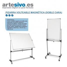 PIZARRA VOLTEABLE MAGNÉTICA (DOBLE CARA)