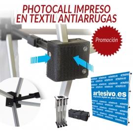POP-UP VELCRO - IMPRESIÓN TEXTIL ANTIARRUGAS - VARIAS MEDIDAS - PROMO