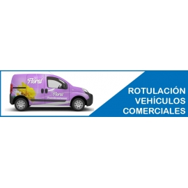 ROTULACIÓN DE VEHÍCULOS COMERCIALES